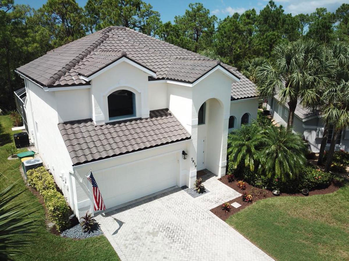 Tile Matching Service - Brown Roof | Atlantis Roofing of Naples, Inc.